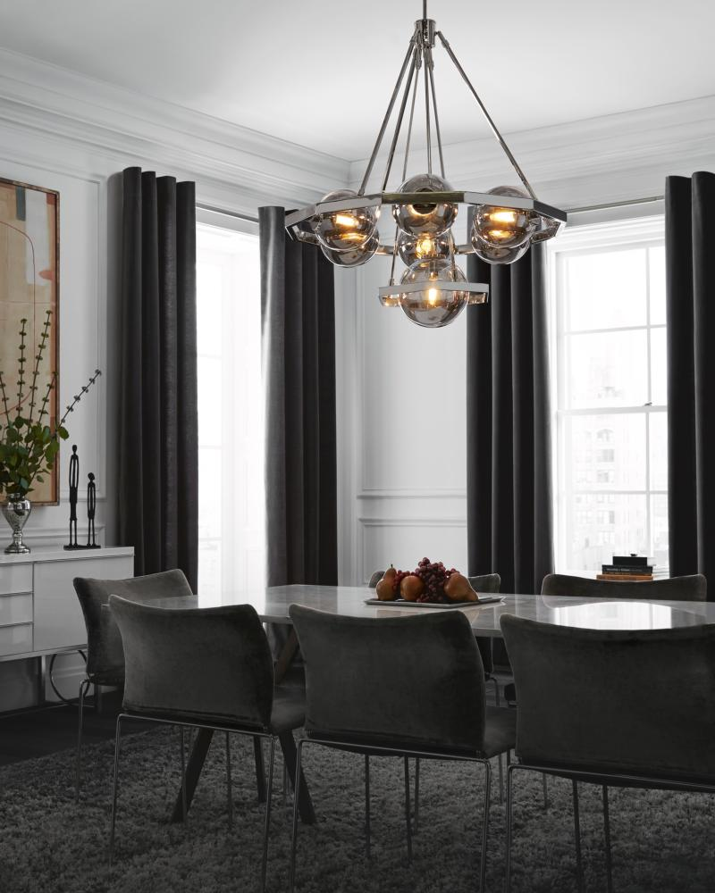 Subtle Dining Room Lighting Ideas From Yale